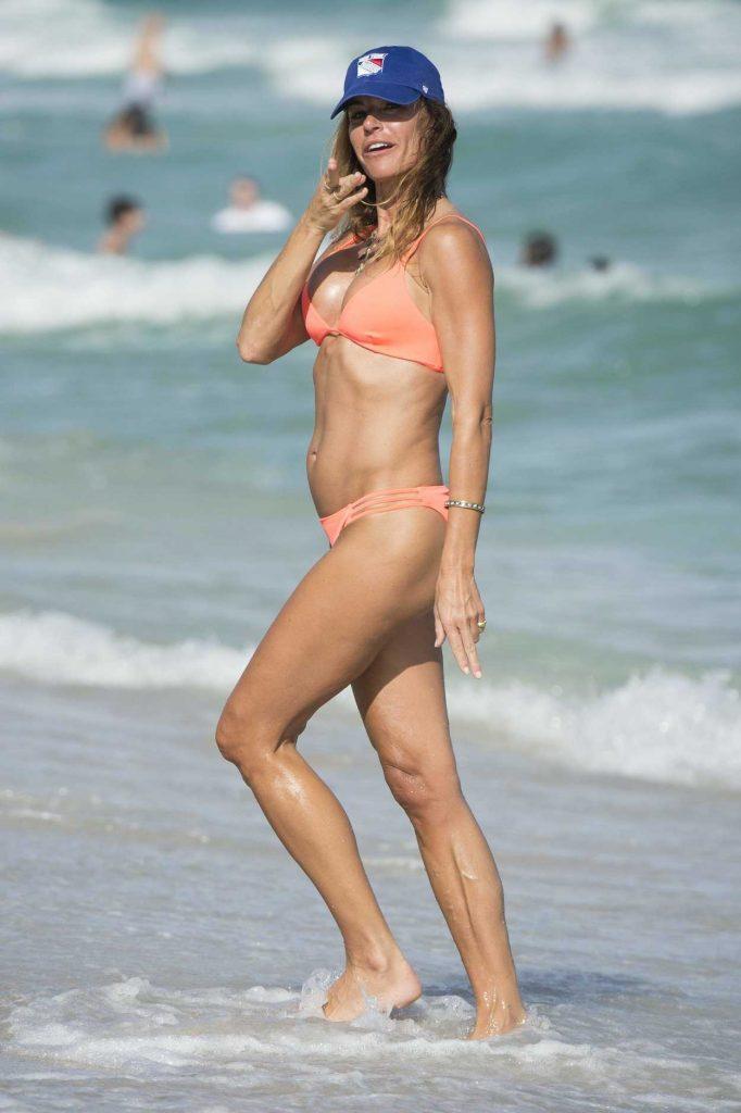 Kelly Bensimon in Bikini at the Beach in Miami 12/25/2016-4
