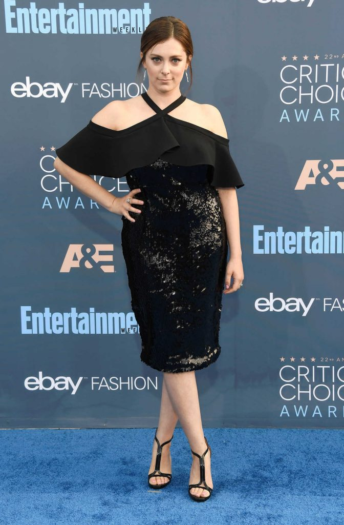 Rachel Bloom at the 22nd Annual Critics' Choice Awards in Santa Monica 12/11/2016-1