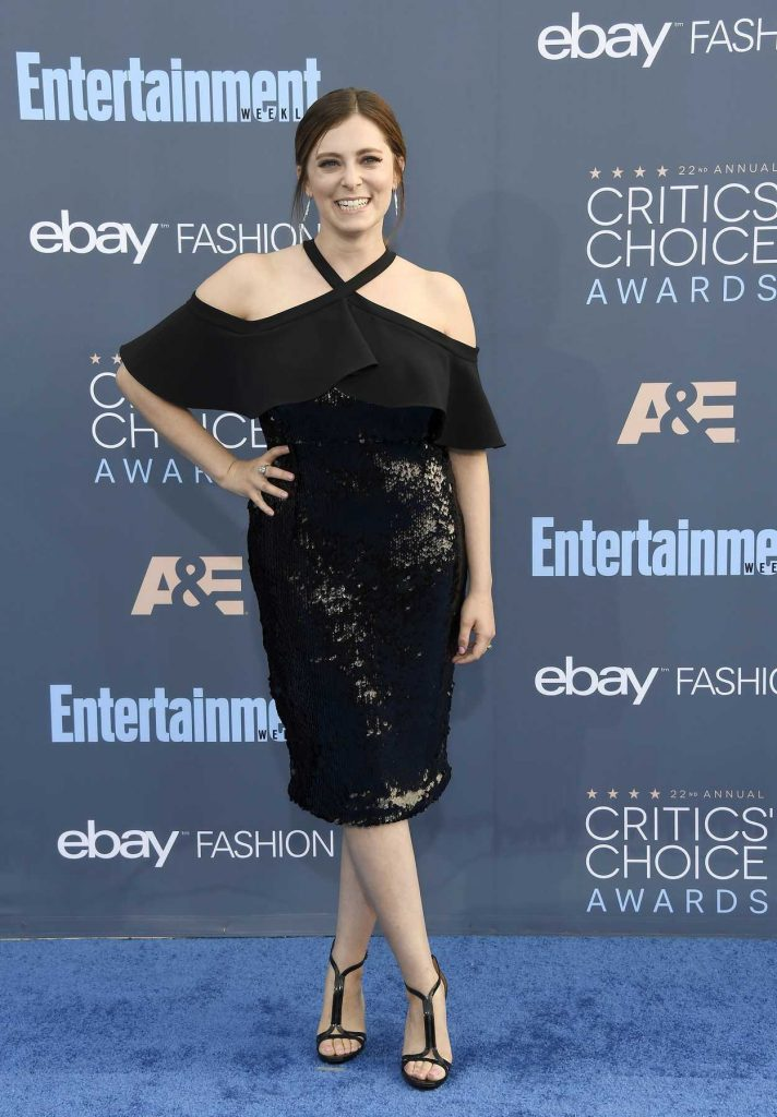 Rachel Bloom at the 22nd Annual Critics' Choice Awards in Santa Monica 12/11/2016-2