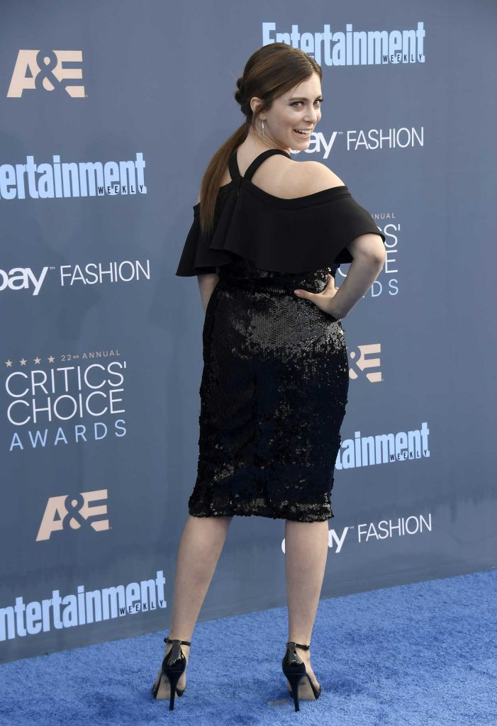Rachel Bloom at the 22nd Annual Critics' Choice Awards in Santa Monica 12/11/2016-3
