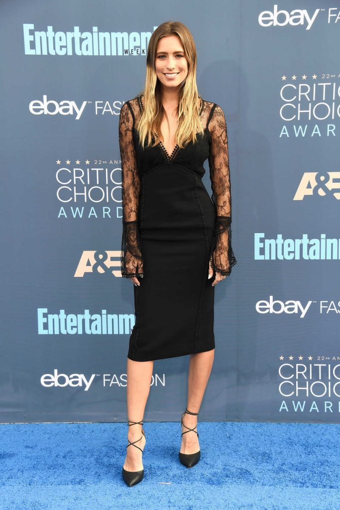 Renee Bargh at the 22nd Annual Critics' Choice Awards in Santa Monica 12/11/2016-1