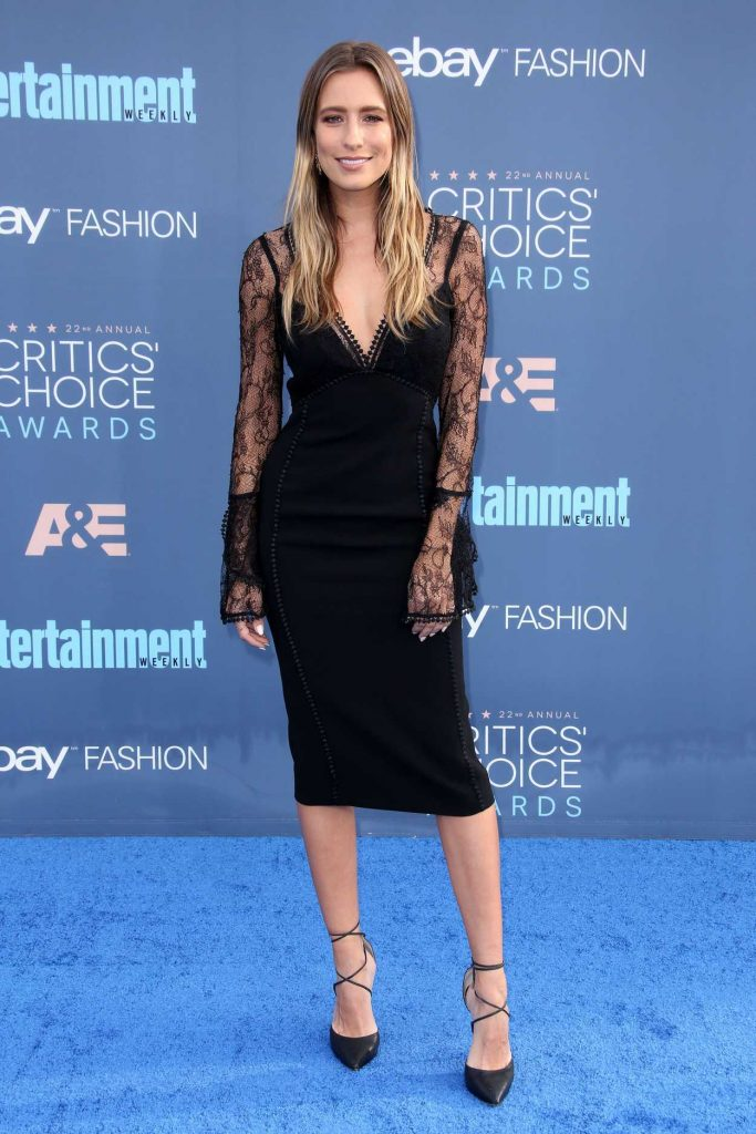 Renee Bargh at the 22nd Annual Critics' Choice Awards in Santa Monica 12/11/2016-2