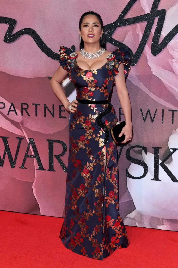 Salma Hayek at the 2016 Fashion Awards at Royal Albert Hall in London 12/05/2016-1