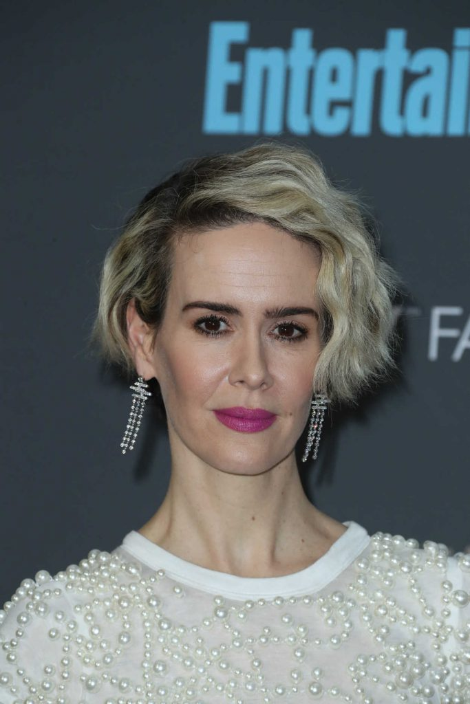 Sarah Paulson at the 22nd Annual Critics' Choice Awards in Santa Monica 12/11/2016-5