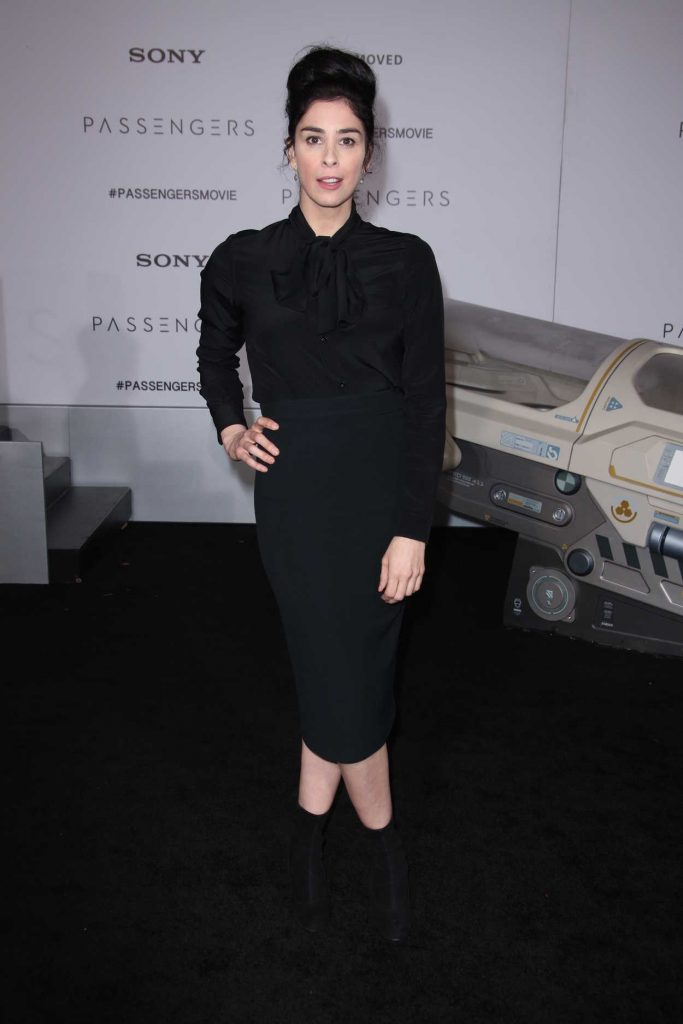 Sarah Silverman at the Passengers Premiere at the Westwood Village Theatre in Los Angeles 12/14/2016-1