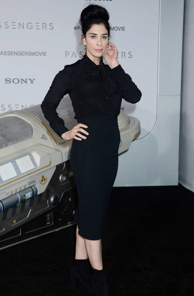 Sarah Silverman at the Passengers Premiere at the Westwood Village Theatre in Los Angeles 12/14/2016-2