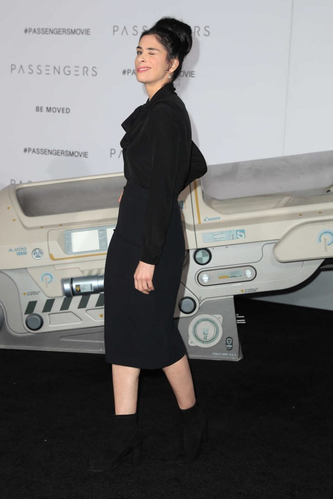 Sarah Silverman at the Passengers Premiere at the Westwood Village Theatre in Los Angeles 12/14/2016-3
