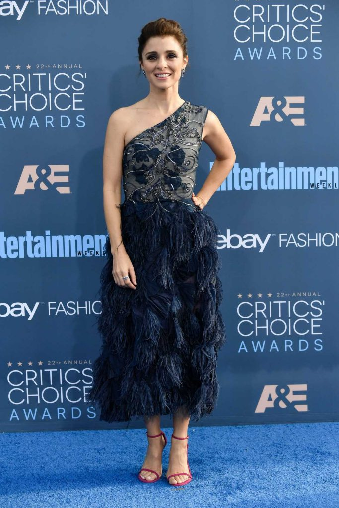 Shiri Appleby at the 22nd Annual Critics' Choice Awards in Santa Monica 12/11/2016-2