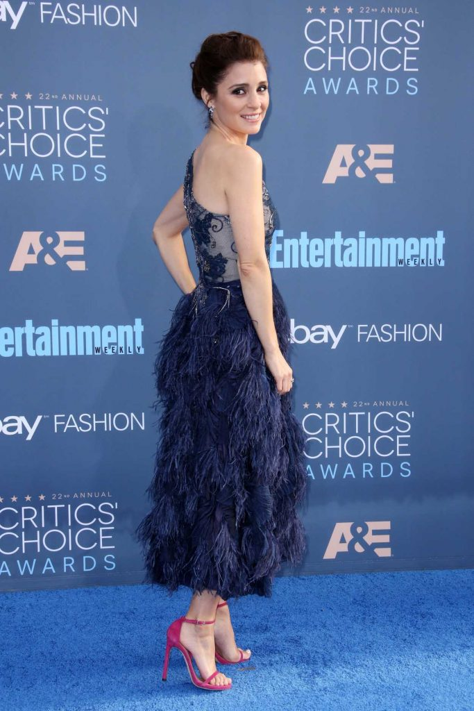 Shiri Appleby at the 22nd Annual Critics' Choice Awards in Santa Monica 12/11/2016-3