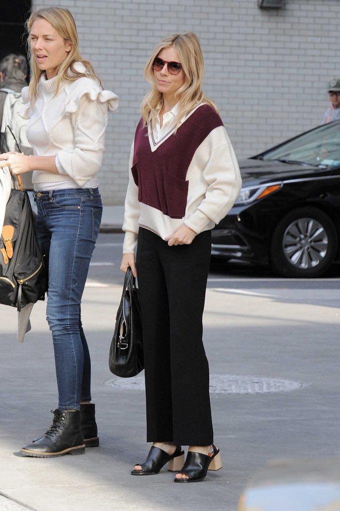 Sienna Miller Was Seen Out in Manhattan, New York 12/13/2016-2