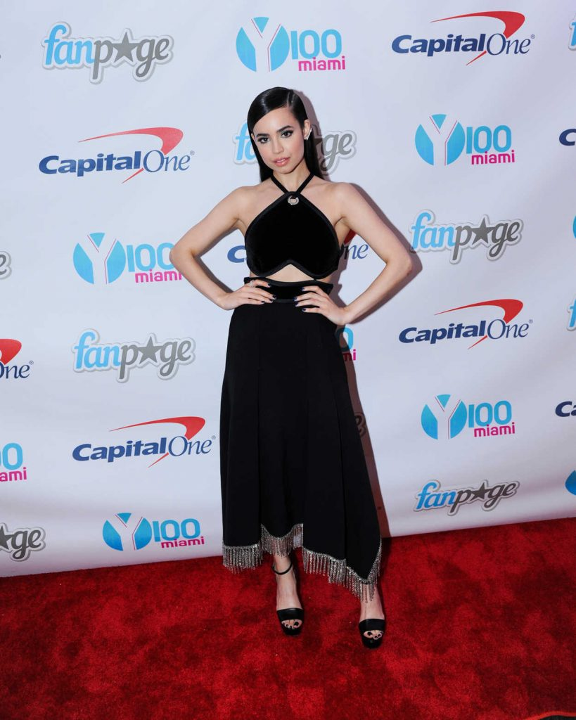 Sofia Carson at the Meet and Greet at Y100's Jingleball in Sunrise 12/18/2016-1