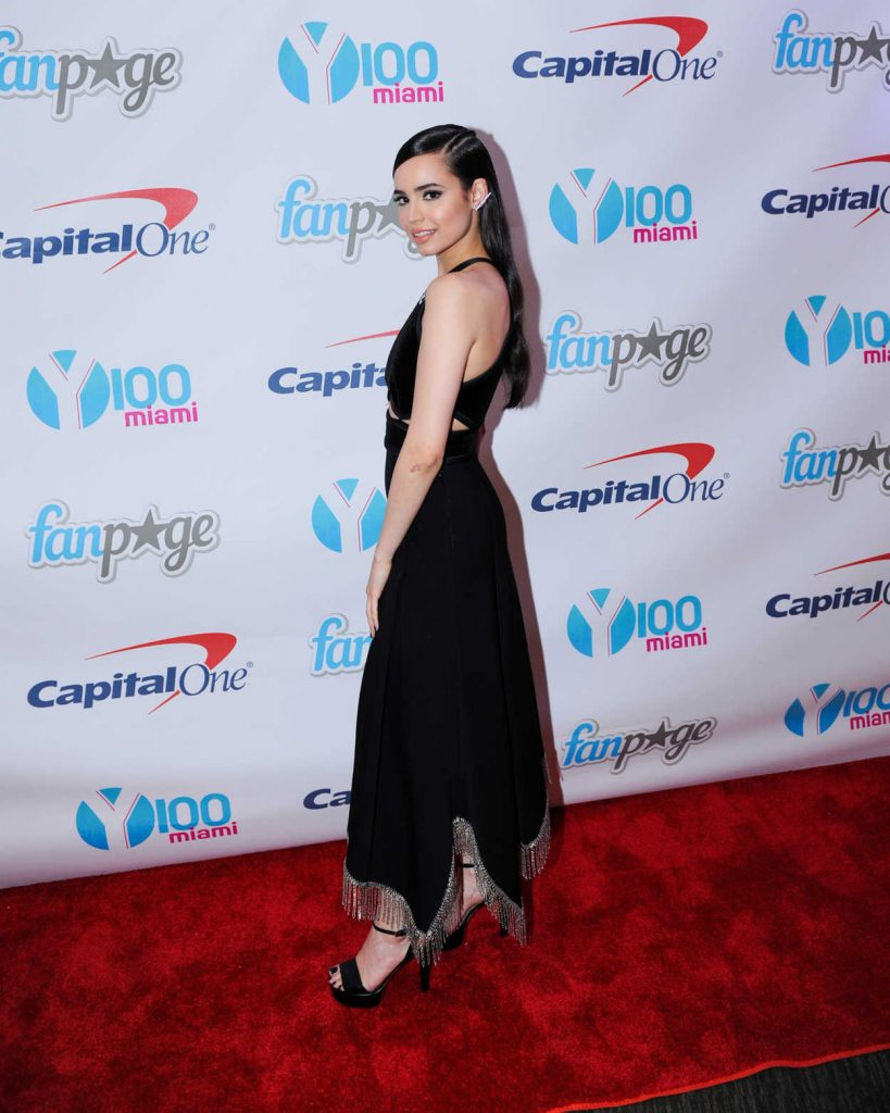 Sofia Carson at the Meet and Greet at Y100's Jingleball in Sunrise 12/18/2016-2