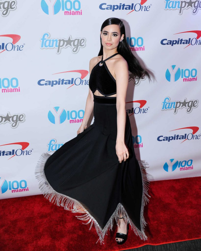 Sofia Carson at the Meet and Greet at Y100's Jingleball in Sunrise 12/18/2016-4