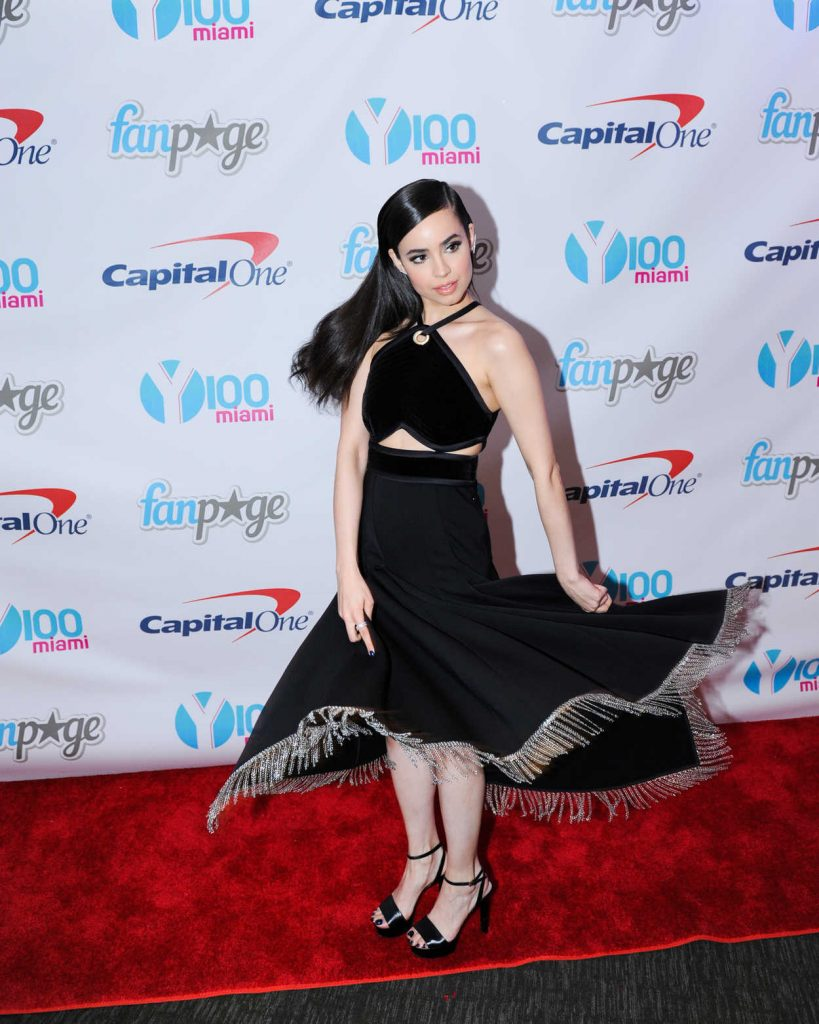 Sofia Carson at the Meet and Greet at Y100's Jingleball in Sunrise 12/18/2016-5