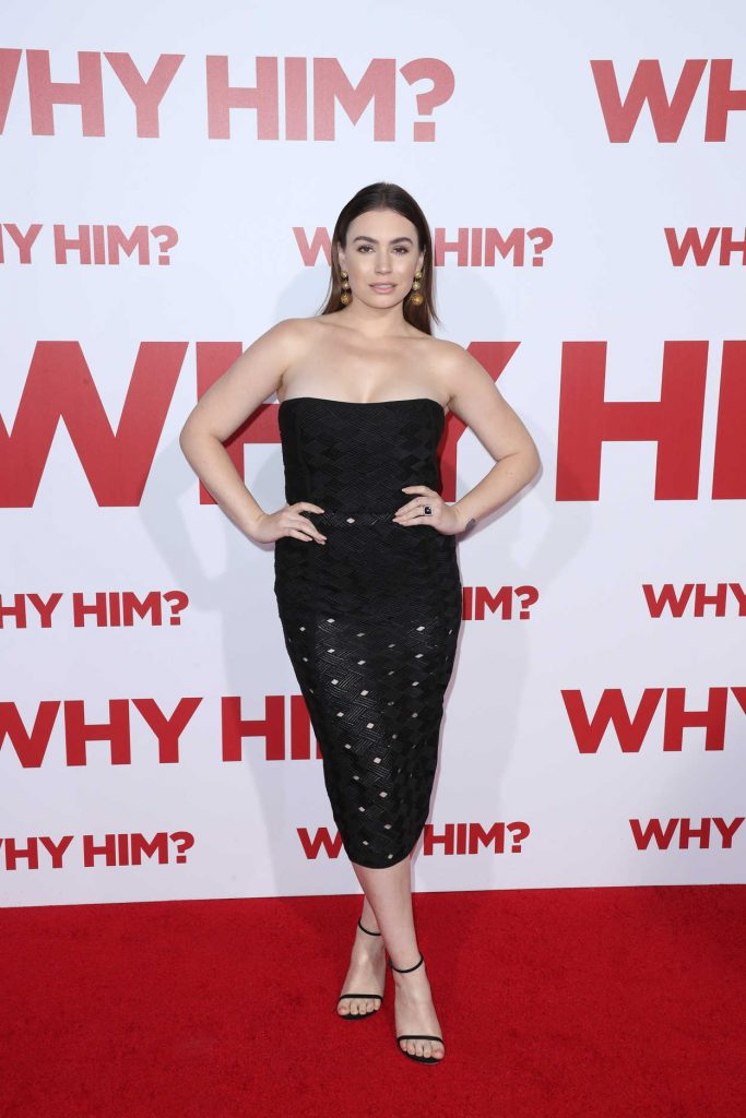 Sophie Simmons at the Why Him? Premiere at the Regency Bruin Theatre in Westwood 12/17/2016-1