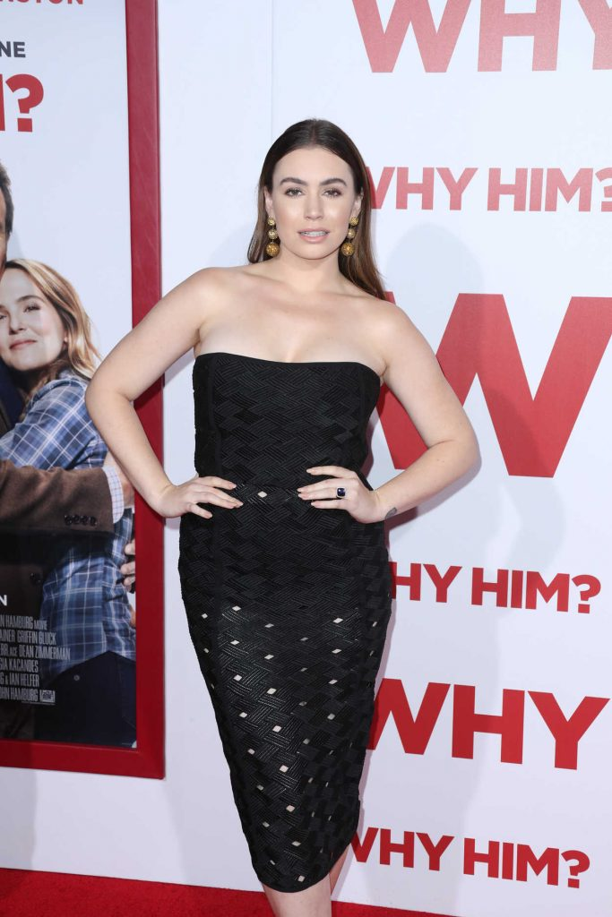 Sophie Simmons at the Why Him? Premiere at the Regency Bruin Theatre in Westwood 12/17/2016-2