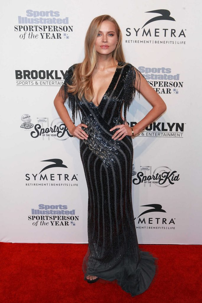Tanya Mityushina at the Sports Illustrated Sportsperson of the Year 2016 Event at Barclays Center in New York 12/12/2016-1