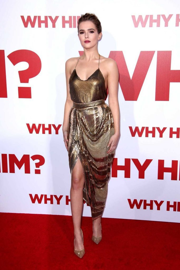 Zoey Deutch at the Why Him? Premiere at the Regency Bruin Theatre in Westwood 12/17/2016-1