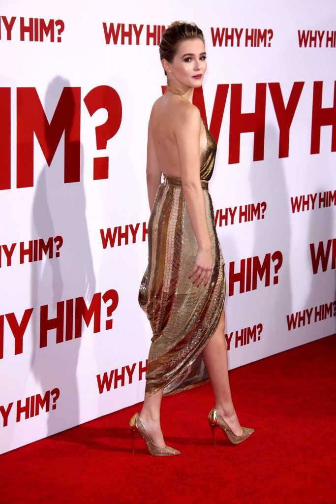 Zoey Deutch at the Why Him? Premiere at the Regency Bruin Theatre in Westwood 12/17/2016-2