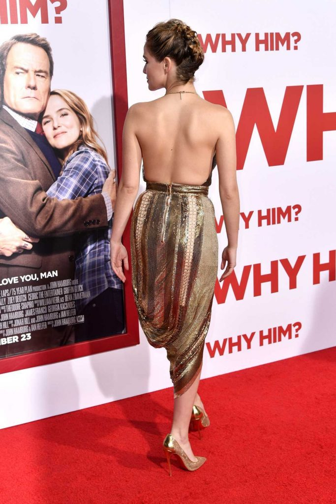Zoey Deutch at the Why Him? Premiere at the Regency Bruin Theatre in Westwood 12/17/2016-3