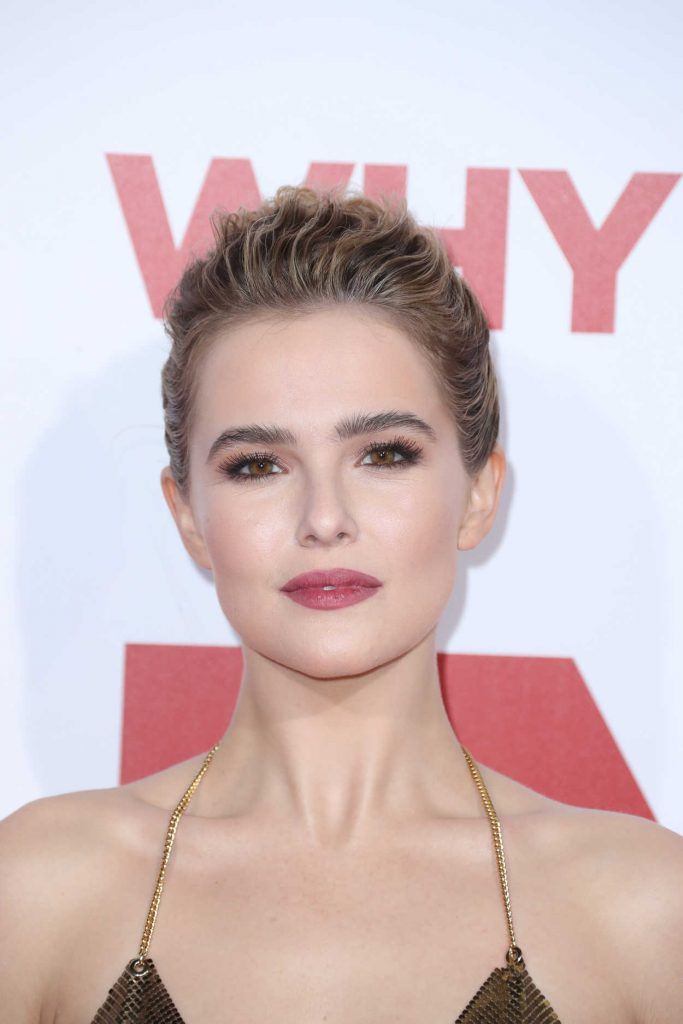 Zoey Deutch at the Why Him? Premiere at the Regency Bruin Theatre in Westwood 12/17/2016-5