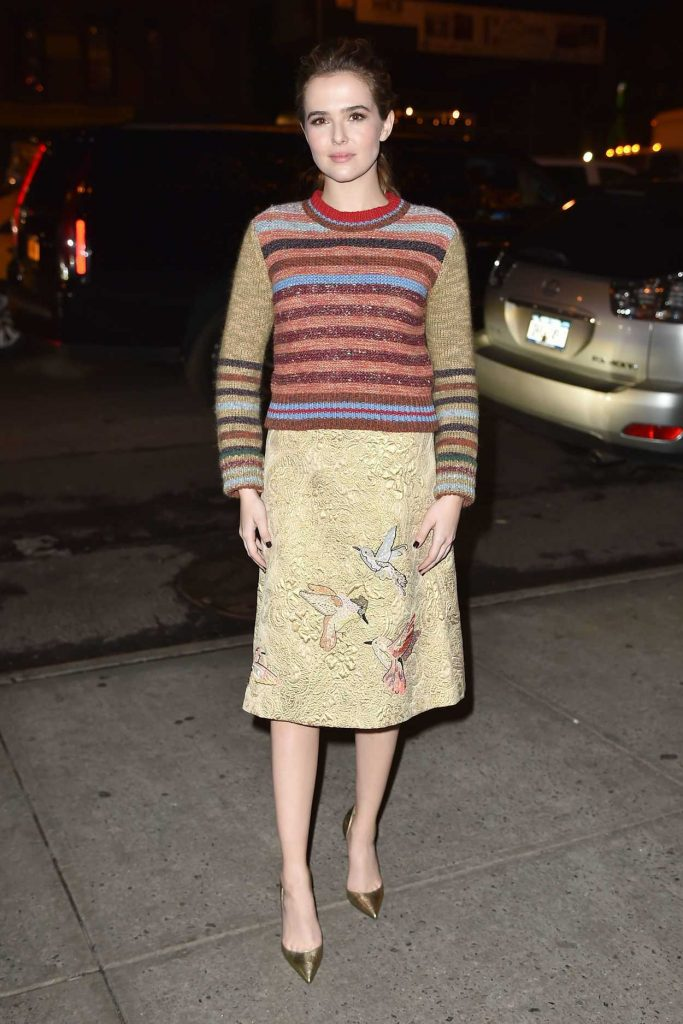 Zoey Deutch Returns to Her Hotel in NYC 12/12/2016-2