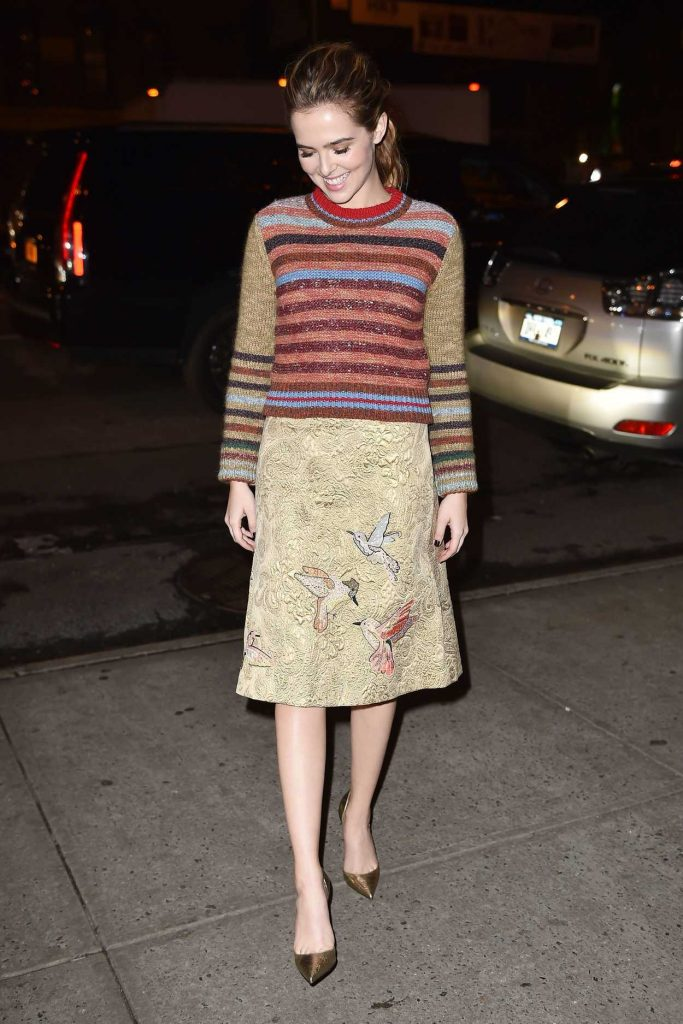 Zoey Deutch Returns to Her Hotel in NYC 12/12/2016-3