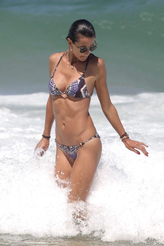 Alessandra Ambrosio in Bikini at the Beach in Florianopolis, Brazil 01/02/2017-1