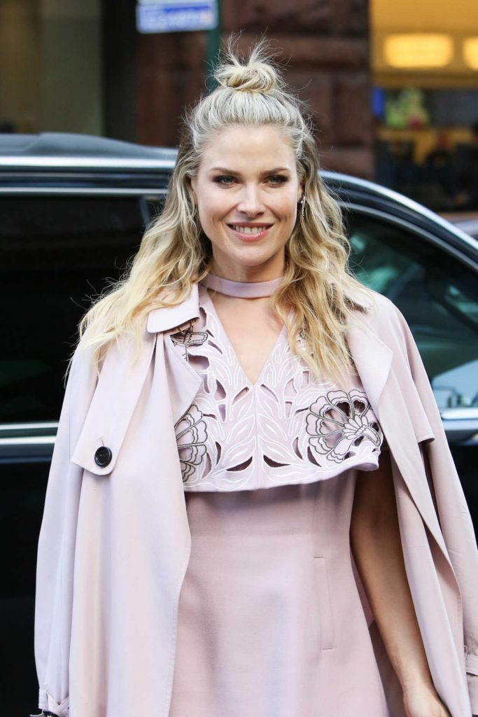 Ali Larter Arrives at AOL Build Studios in New York City 01/26/2017-5