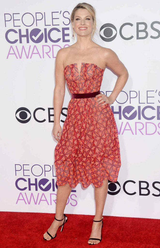 Ali Larter at the 43rd Annual People's Choice Awards in Los Angeles 01/18/2017-2