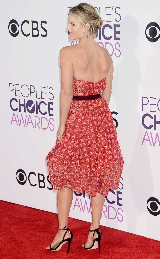 Ali Larter at the 43rd Annual People's Choice Awards in Los Angeles 01/18/2017-3