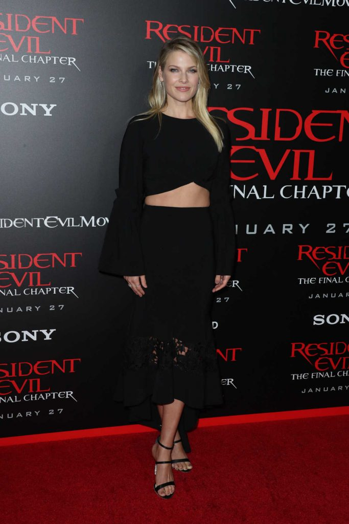Ali Larter at the Resident Evil: The Final Chapter Premiere at the Regal Cinema in Los Angeles 01/23/2017-1