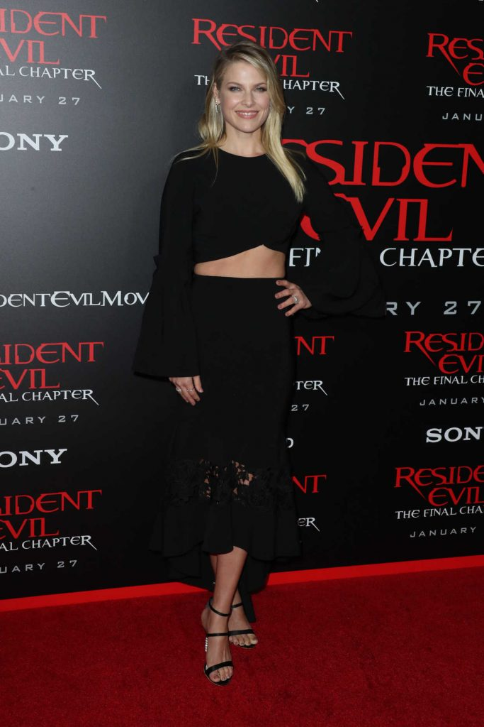 Ali Larter at the Resident Evil: The Final Chapter Premiere at the Regal Cinema in Los Angeles 01/23/2017-2