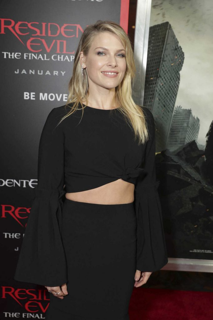 Ali Larter at the Resident Evil: The Final Chapter Premiere at the Regal Cinema in Los Angeles 01/23/2017-5