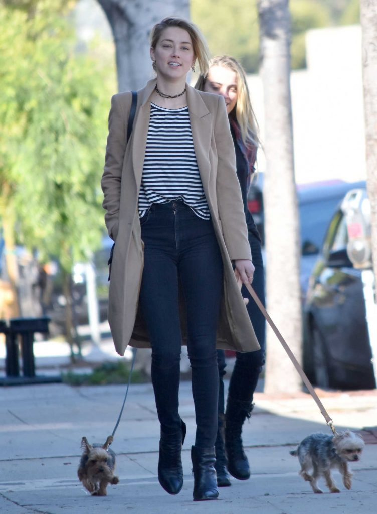 Amber Heard Was Seen Out in Los Feliz 01/26/2017-1