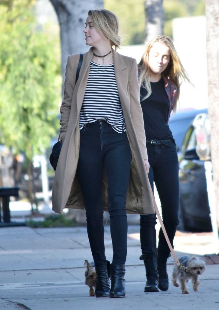 Amber Heard Was Seen Out in Los Feliz 01/26/2017-2