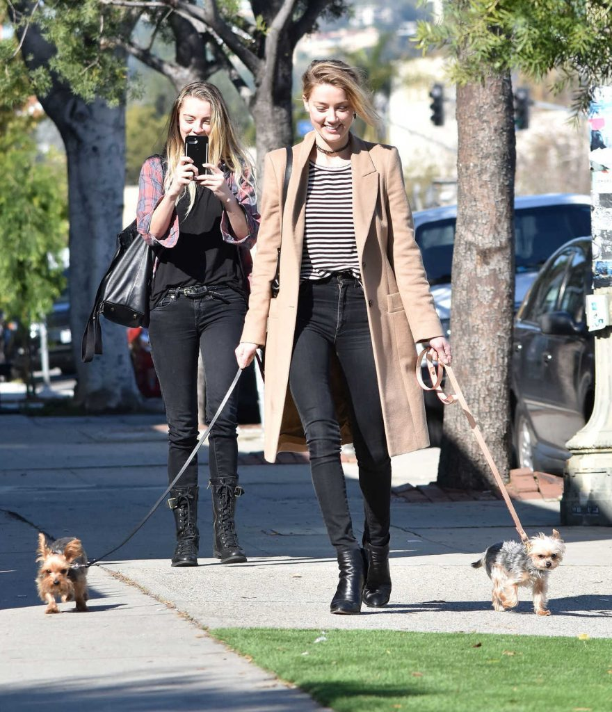 Amber Heard Was Seen Out in Los Feliz 01/26/2017-4