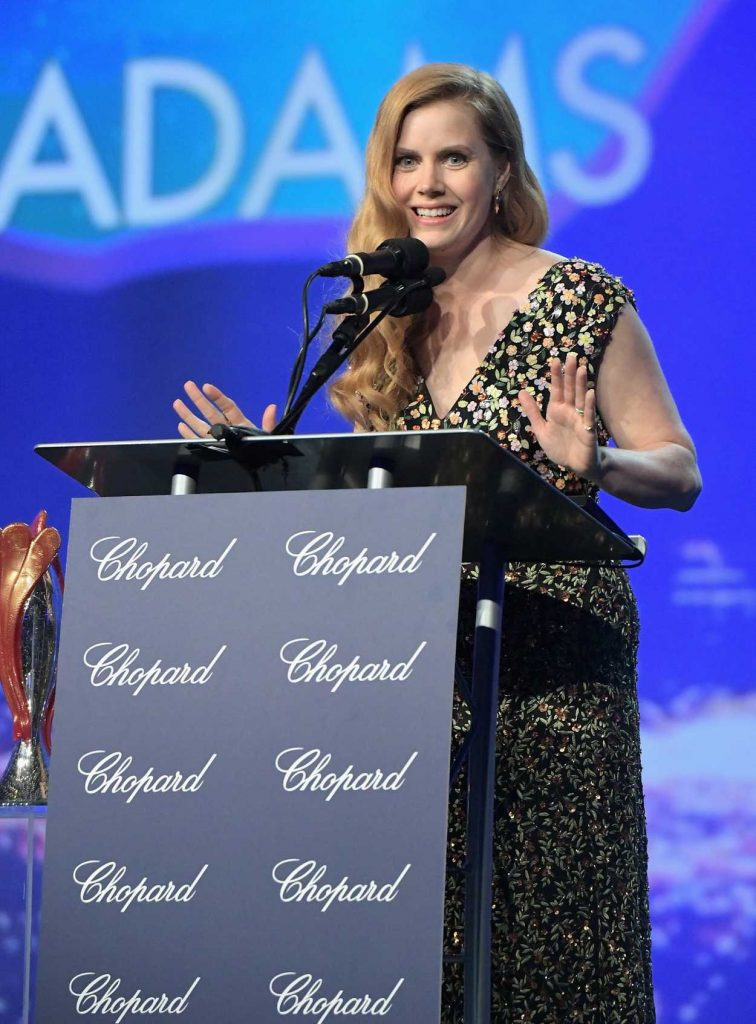 Amy Adams at the 28th Annual Palm Springs International Film Festival Awards 01/02/2017-5