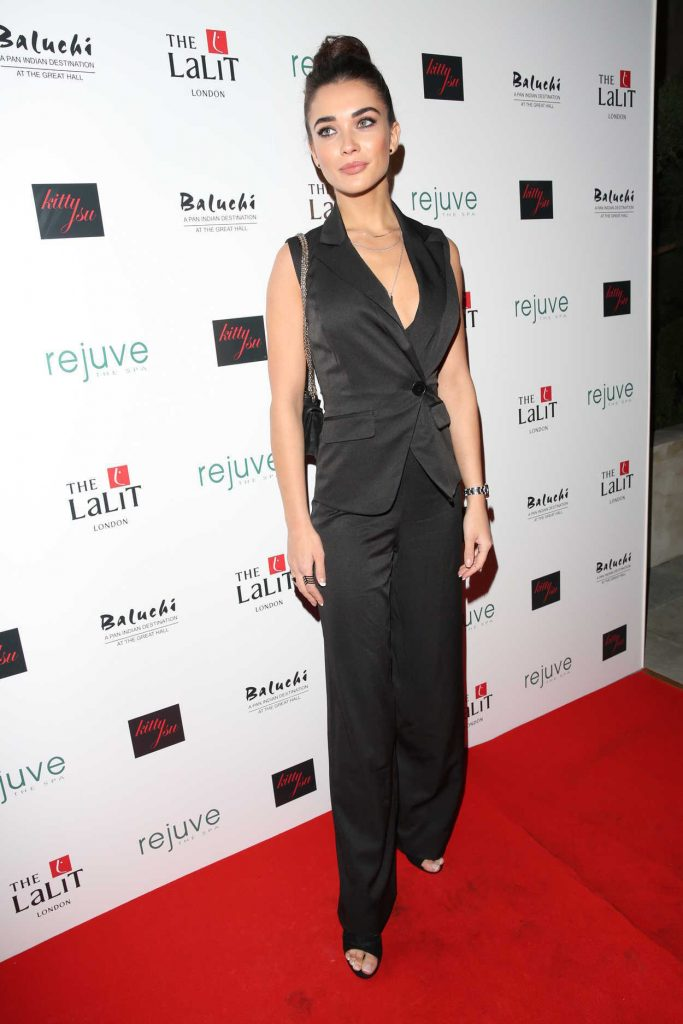 Amy Jackson at the Launch of Hotel Lalit in London 01/26/2017-4