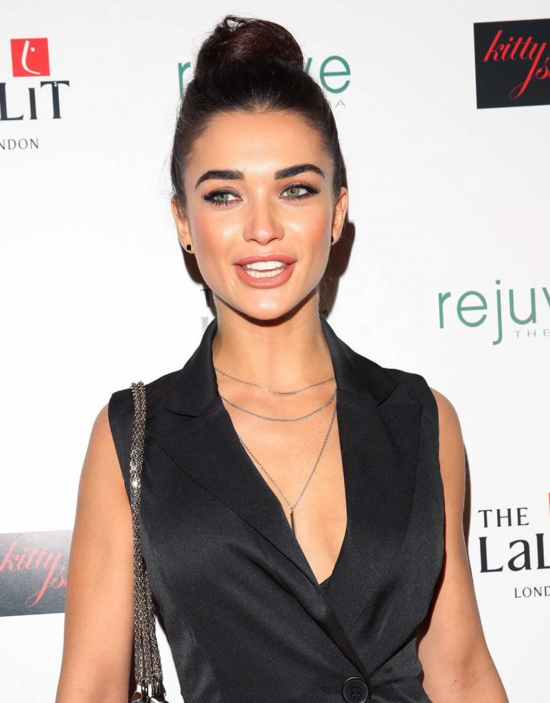 Amy Jackson at the Launch of Hotel Lalit in London 01/26/2017-5