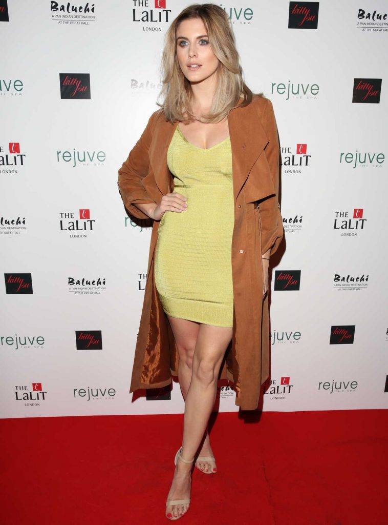 Ashley James at the Launch of Hotel Lalit in London 01/26/2017-2