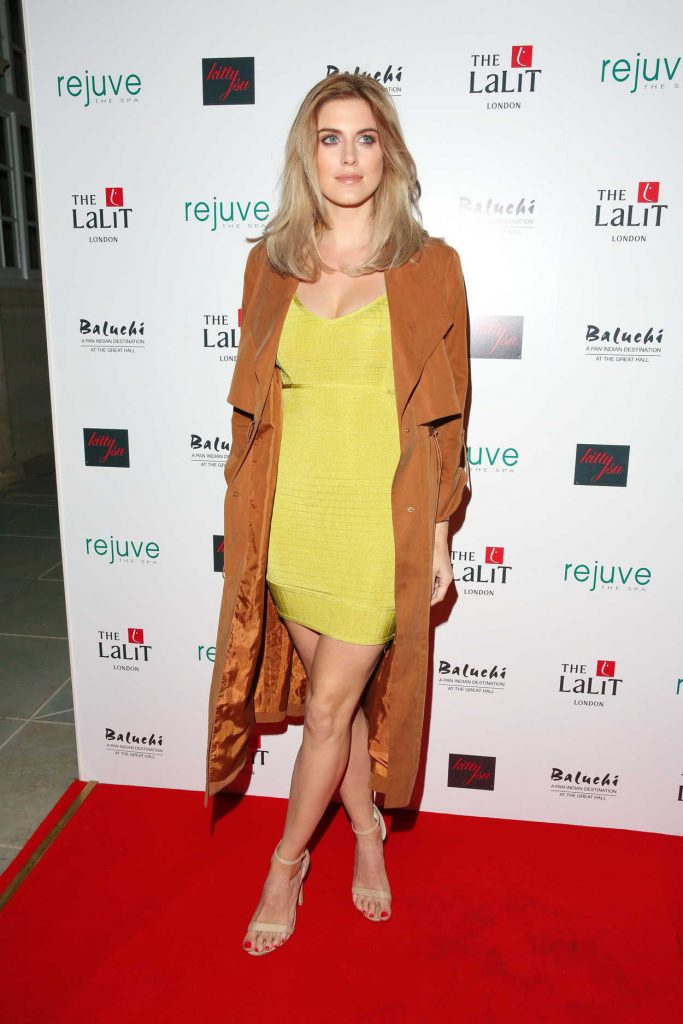 Ashley James at the Launch of Hotel Lalit in London 01/26/2017-3