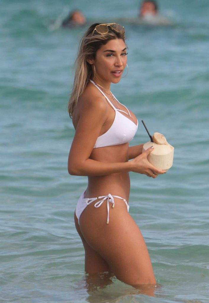 Chantel Jeffries in Bikini at the Beach in Miami 01/06/2017-4