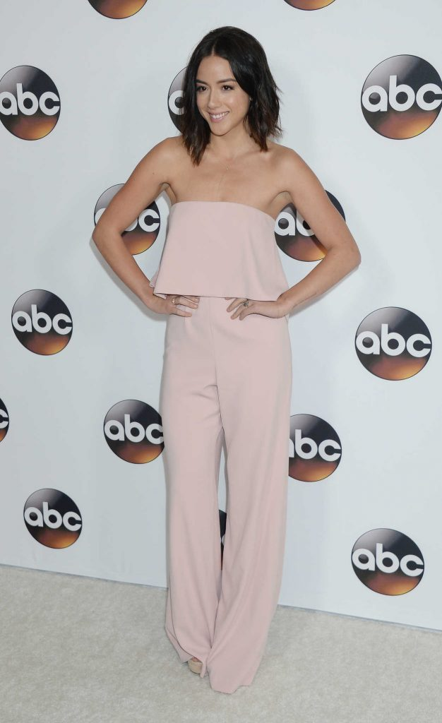 Chloe Bennet at the Disney ABC Television Hosts TCA Winter Press Tour in Pasadena 10/01/2017-1