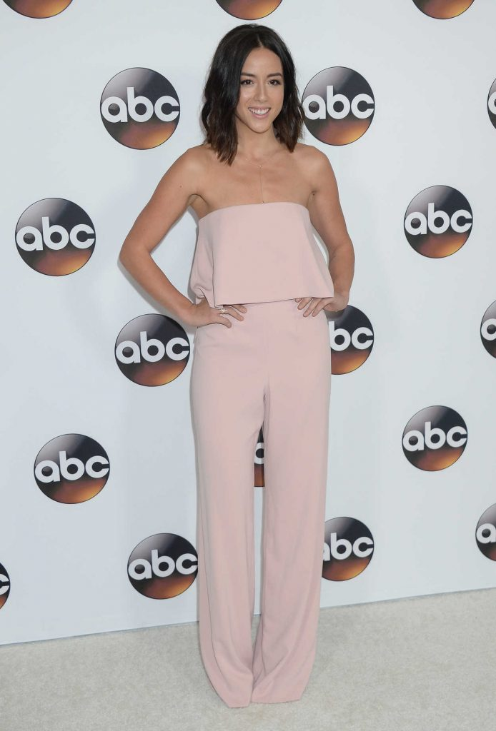 Chloe Bennet at the Disney ABC Television Hosts TCA Winter Press Tour in Pasadena 10/01/2017-2