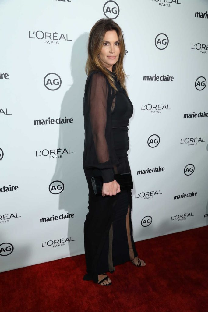 Cindy Crawford at the Marie Claire Image Maker Awards in Los Angeles 10/01/2017-3