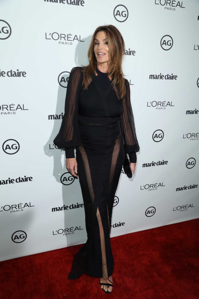 Cindy Crawford at the Marie Claire Image Maker Awards in Los Angeles 10/01/2017-4