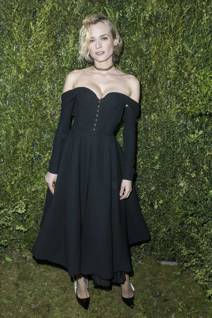 Diane Kruger at the Christian Dior Fashion Show in Paris 01/23/2017-1