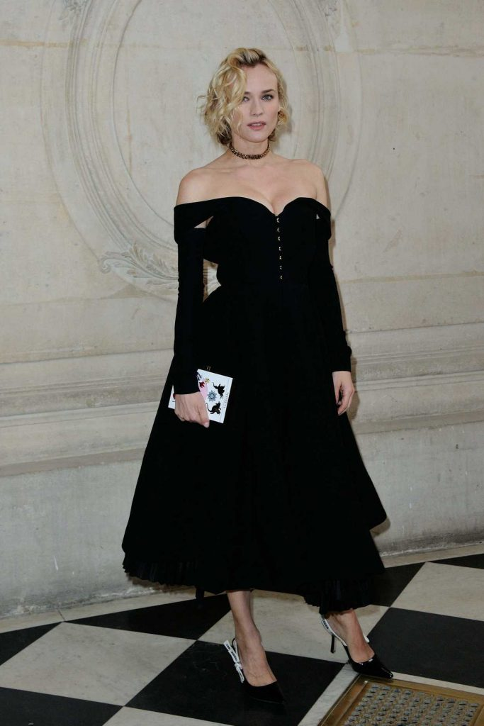 Diane Kruger at the Christian Dior Fashion Show in Paris 01/23/2017-2