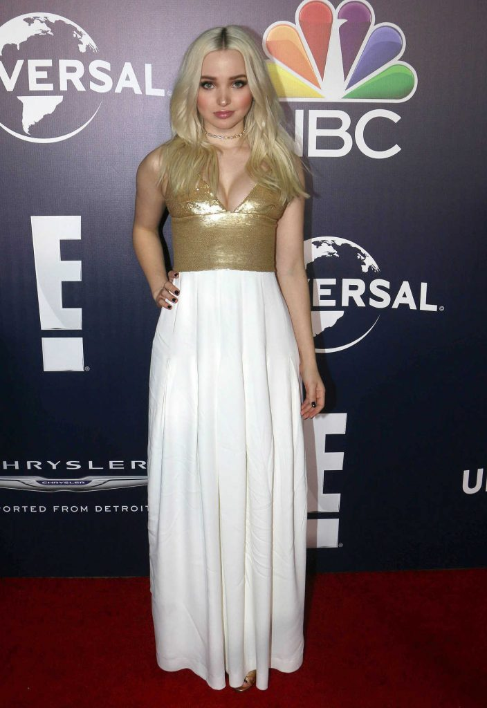 Dove Cameron at E! Entertainment Golden Globes After Party in Los Angeles 01/08/2017-1